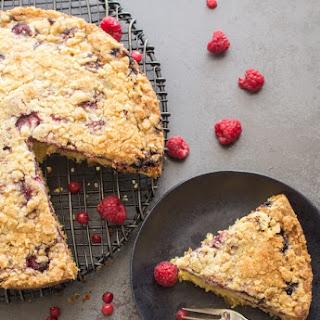 Wild Berry Crumb Cake.