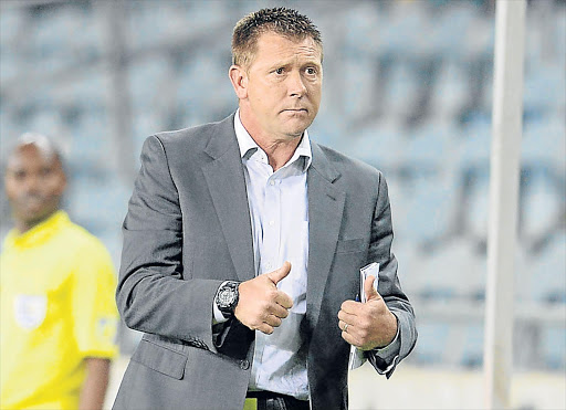 Eric Tinkler is the new Chippa United coach