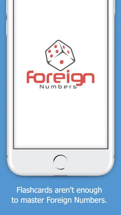 Foreign Numbers- screenshot