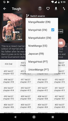 Manga Geek - Free Manga Reader App 1.2.1.0 Screenshots 3