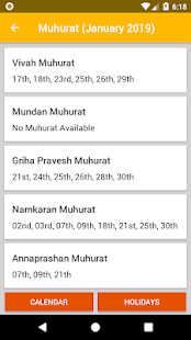 Download App Hindu Calendar 2019 APK latest version for PC