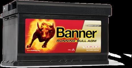 Banner Running Bull -AGM 12v 80Ah