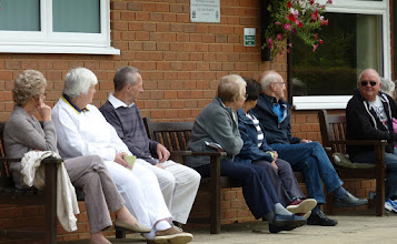 Photo: Spectators buiding up- Avril Williams, Chris Bruce, Clive Jeffrey, Ann Armstrong, Val King, Ray Want & Les Rushbrooke.