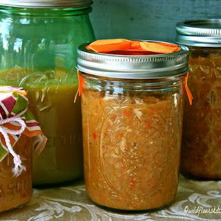 Easy Slow Cooker Green Tomato Salsa Verde.