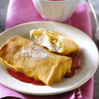 Cheesy Filled Crepes