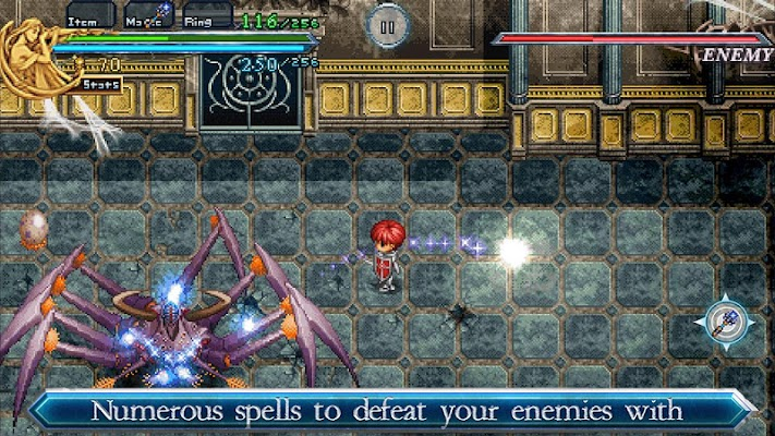 Ys Chronicles II- screenshot