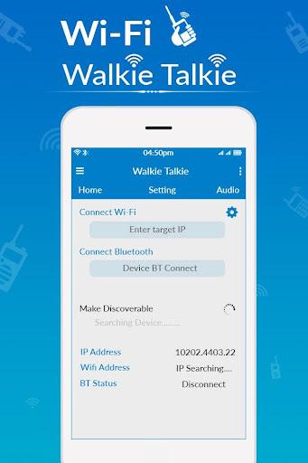 WiFi Walkie Talkie - Two Way Walkie Talkie hack tool