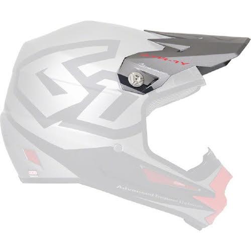 6D Helmets ATR-1Y Helmet Visor: Macro Titanium