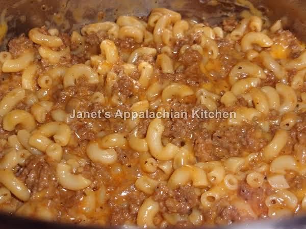 Instant Pot Cheeseburger Macaroni Recipe
