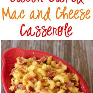 Bacon Baked Mac and Cheese Casserole Recipe!