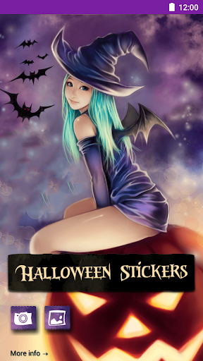 Halloween Sticker Photo Editor