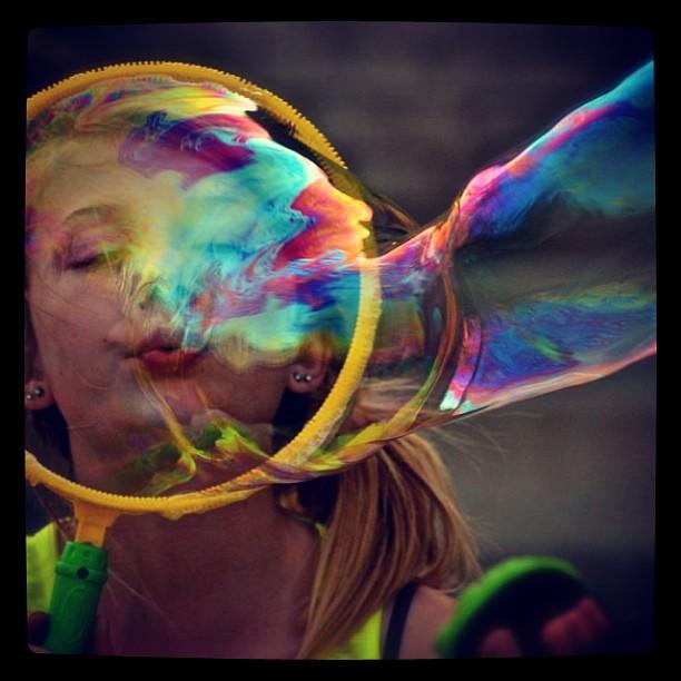 Bubbles by Clark Crosser - Instagram & Mobile iPhone (  )