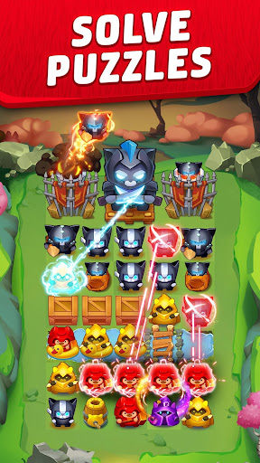 Cat Force - Free Puzzle Game apkslow screenshots 1