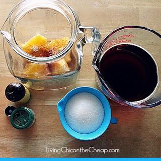 Orange Vanilla Iced Tea