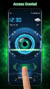 Eye Scanner Lock Screen 2018 (Prank) - náhled