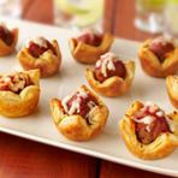 Meatball Tartlet Appetizer Recipe