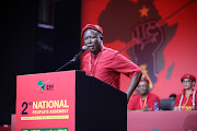 EFF leader Julius Malema