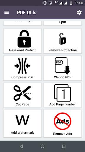 PDF Utils: Merge, Reorder, Split, Extract & Delete 9.7 screenshots 2