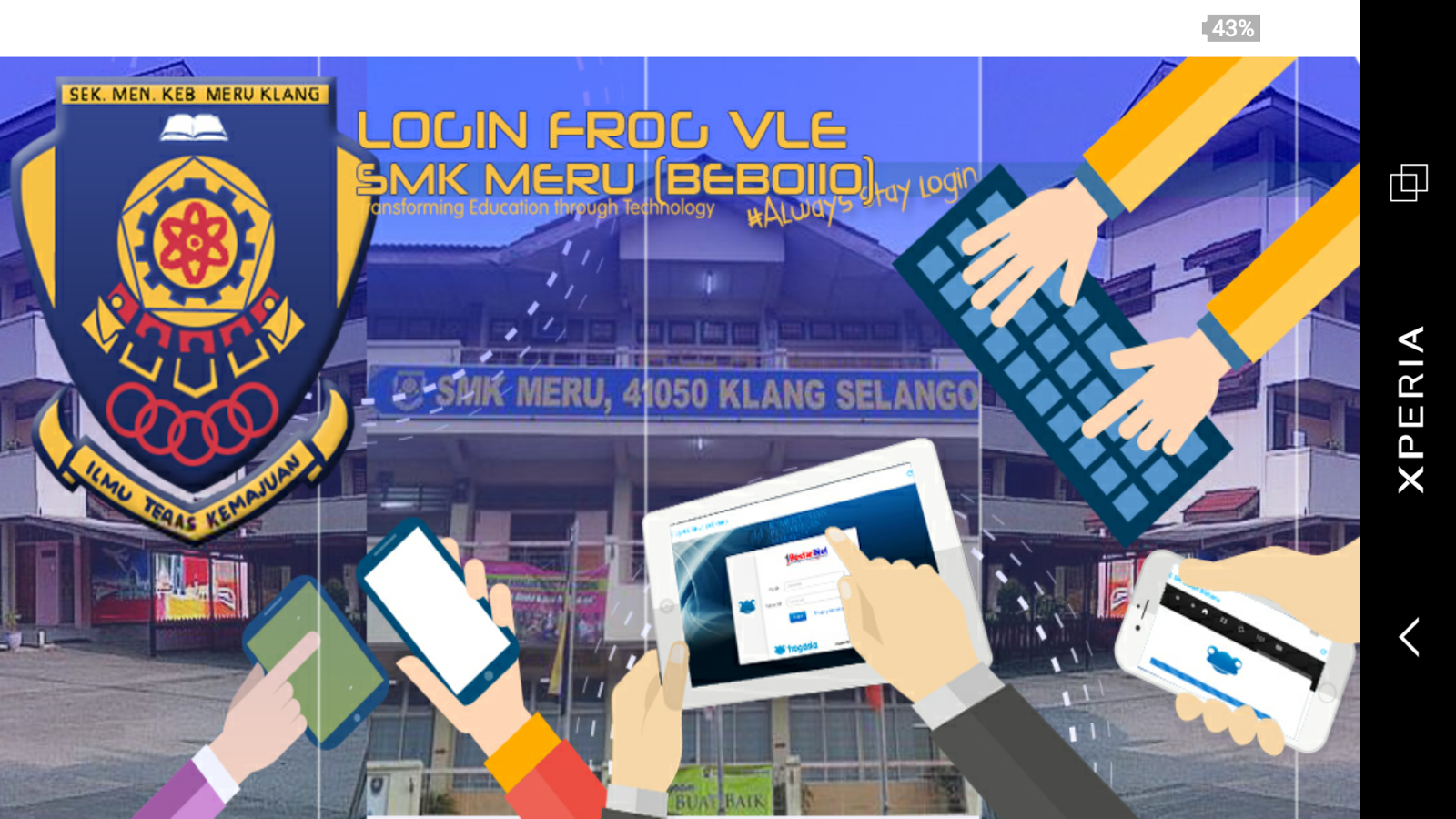 Frog VLE SMK Meru- screenshot