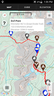 Great Divide Trail- screenshot thumbnail