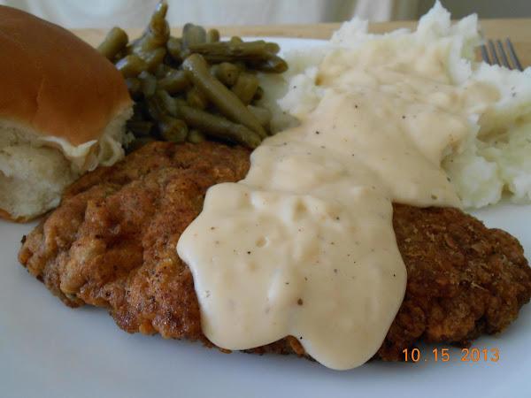 Chicken Fried Steak With Country Gravy Recipe