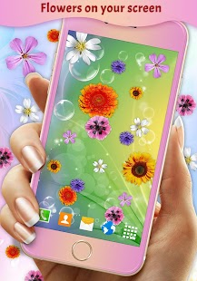 Pretty Flowers on Screen - náhled