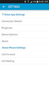 Telstra T-Voice screenshot 6