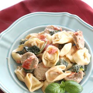 Creamy Italian Sausage and Tortellini Recipe