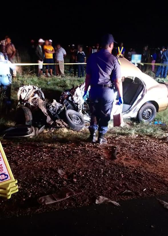 Man killed in collision between truck and car in Westonaria - SowetanLIVE