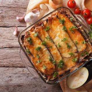 Layered Eggplant Zucchini Bake Recipe