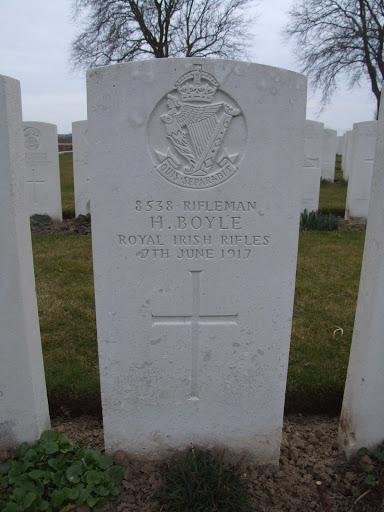 Thomas Henry Boyle grave