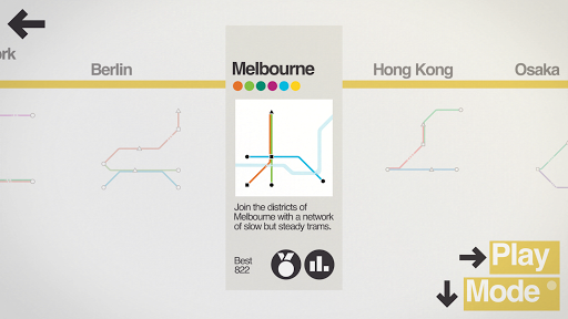 Mini Metro - screenshot