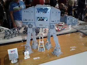 Photo: Walker MOC with cut-away showing interior.