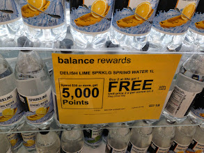 Photo: Duane Reade Delish brand sparkling spring water on sale: 3 for the price of 2.