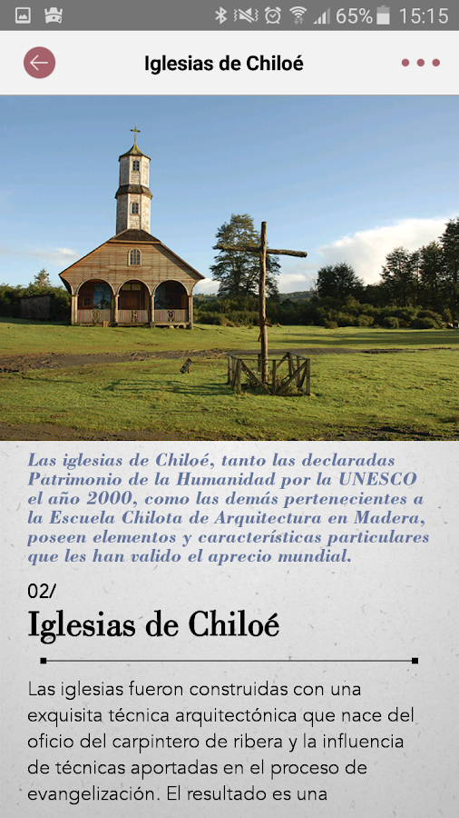 Iglesias Chiloe- screenshot