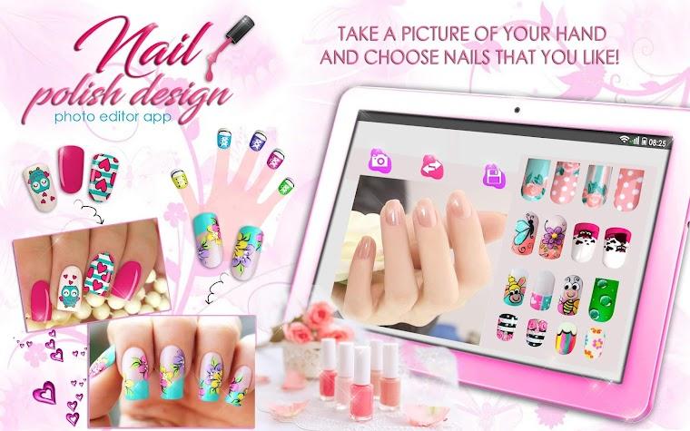 Nail Polish Design Photo Edit 💅📷 Decorate Nails 1.3 Android APK ...