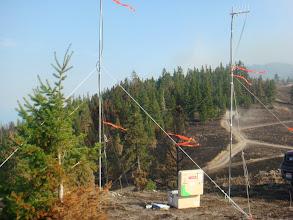 Photo: West Garceau Fire, August 2012