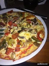 Photo: Undeserved pizza for dinner last night