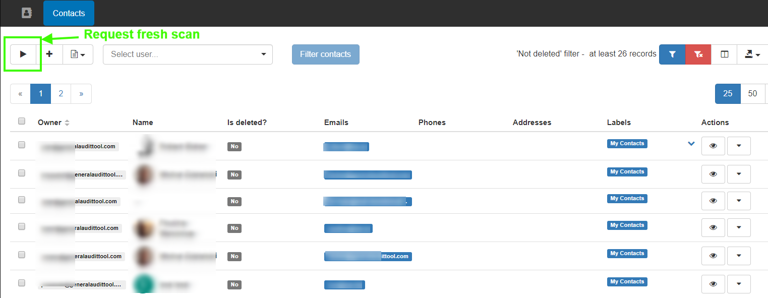 GAT+: Google Contacts Management 2