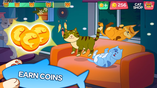 cat party: dance clicker screenshot 2