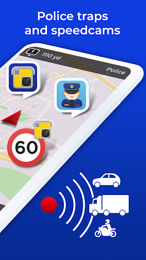 Radarbot Free: Speed Camera Detector & Speedometer 6.61 screenshots 2