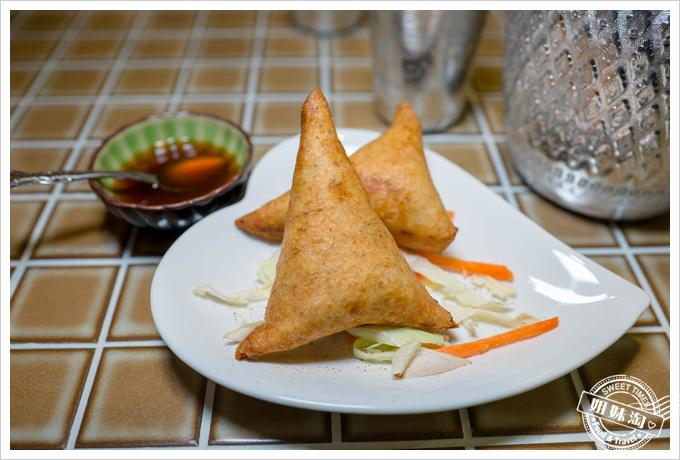 瑪哈印度餐廳蔬菜黃金餃