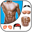 Man Abs Editor: Men Six pack, Eight pack man style icon