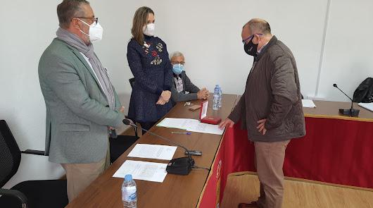 José Antonio Porcel toma posesión como concejal del Gobierno municipal de Albox