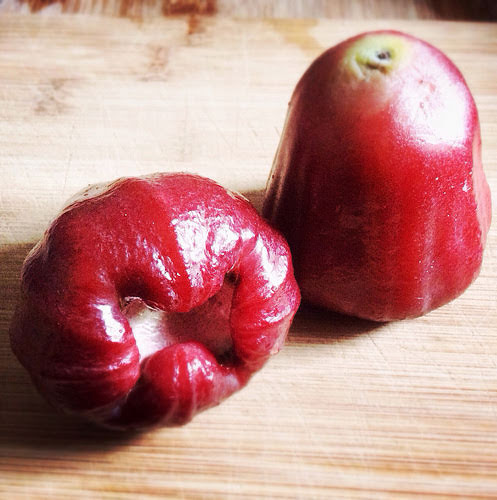 asian, chinese, fruit, rose apple, taiwan, 蓮霧, rose apple, wax apple, tropical fruit,