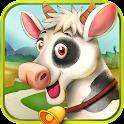 Village Farm Animals Kids Game icon