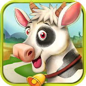 Village Farm Animals Kids Game