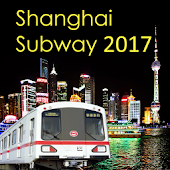 Shanghai Subway Map 2017
