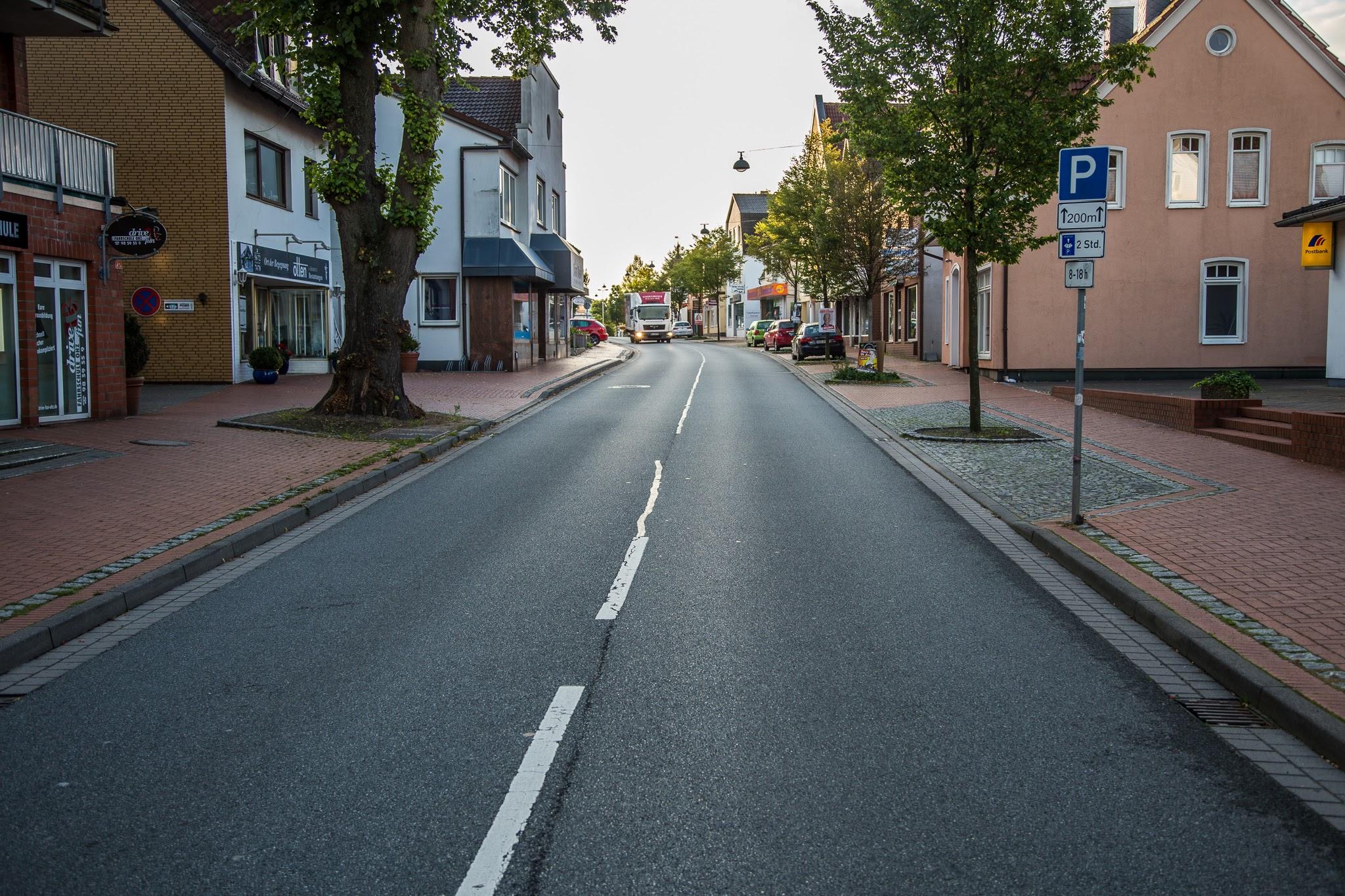 Kein Radweg mittlere Bahnhofstraße in Osterholz-Scharmbeck