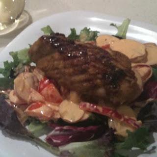 Dave's Kickass Jerk/brown Sugar Glazed Tuna.